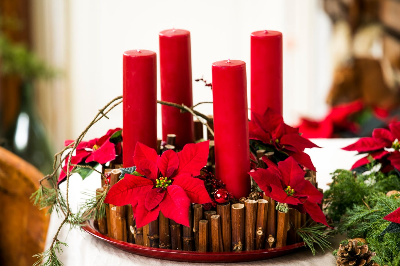 Ready for Christmas: Advent wreath designs from the world of stars!